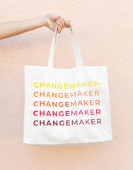 Changemaker Canvas Tote | The Little Market
