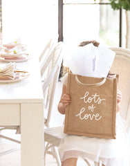 Lots Of Love Reusable Gift Tote | The Little Market