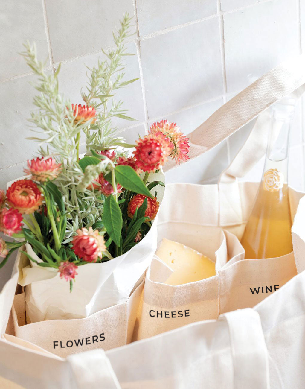 Canvas Farmers Market Tote | The Little Market