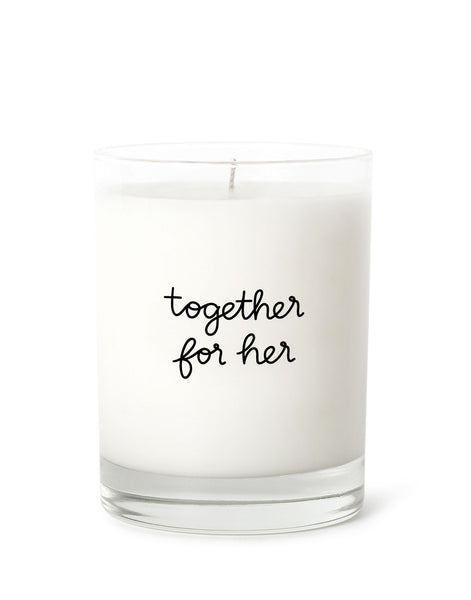 Candle Label - Together For Her