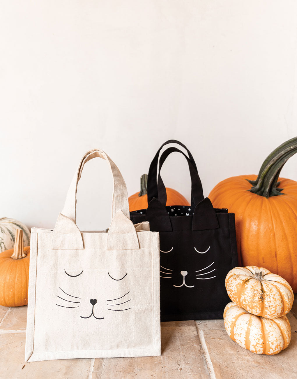 Canvas Cat Totes | The Little Market