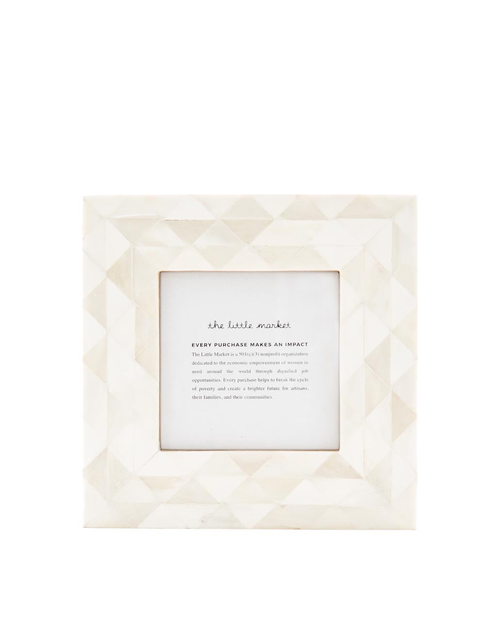 Triangles Frame | The Little Market