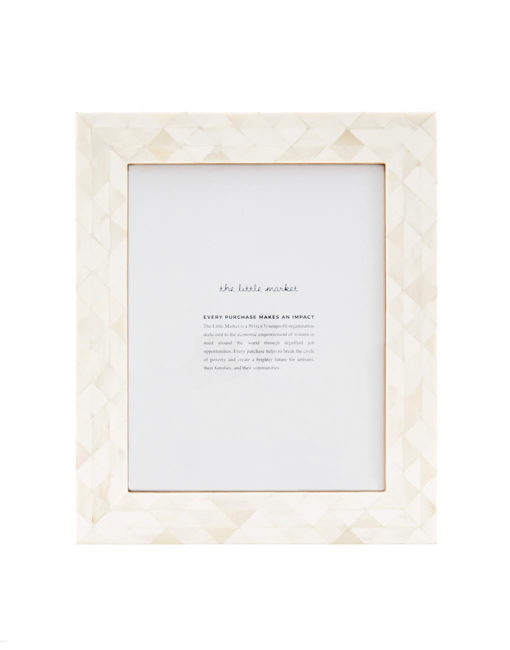 Extra Large Triangles Frame | The Little Market