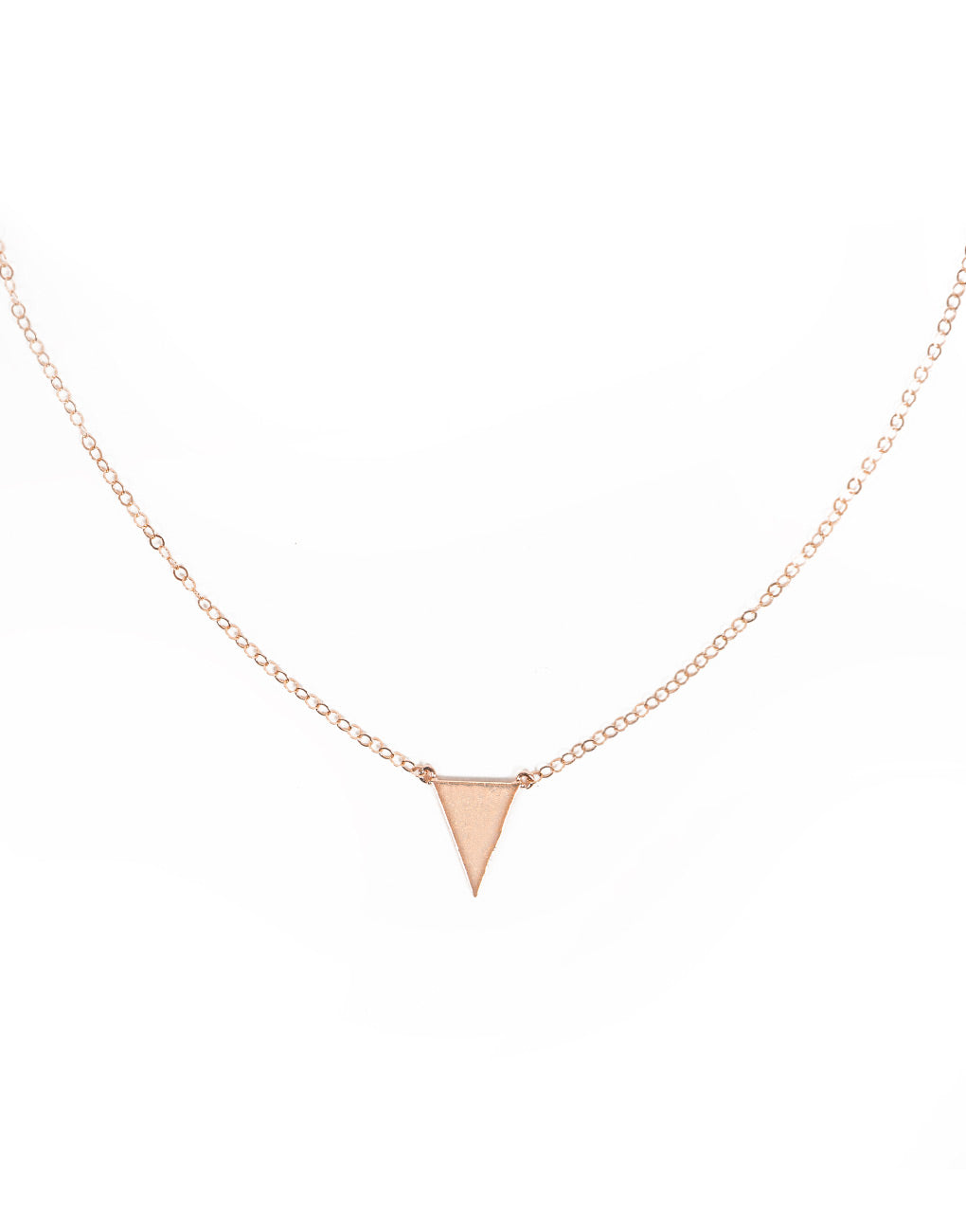 76692075a09 Triangle Necklace - Gold
