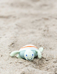 Hand-woven Sea Turtle Shaped Baby Rattle