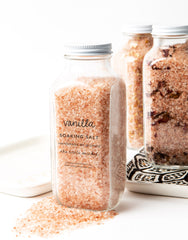 Hand-mixed Vanilla Soaking Salt
