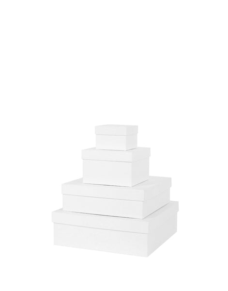 White Square Gift Box