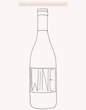 Lauren Conrad Design Wine Reusable Wine Tote | The Little Market