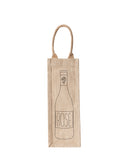 Lauren Conrad Design Rosé Reusable Wine Tote In Black Design | The Little Market