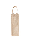Lauren Conrad Design Rosé Reusable Wine Tote In White Design | The Little Market