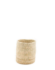Small Natural Woven Bath Bin | The Little Market