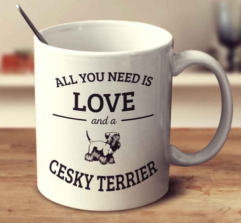 All You Need Is Love And A Cesky Terrier