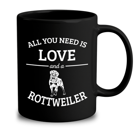 All You Need Is Love And A Rottweiler