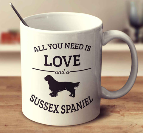 All You Need Is Love And A Sussex Spaniel