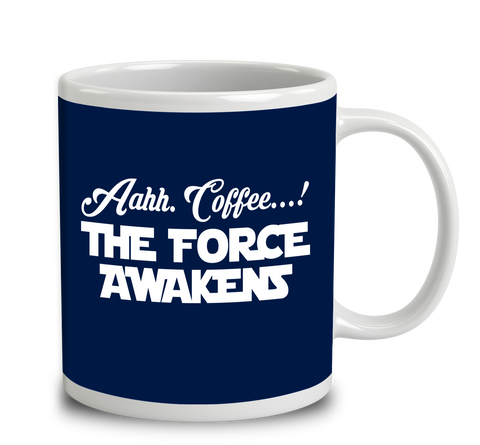 Aahh Coffee The Force Awakens