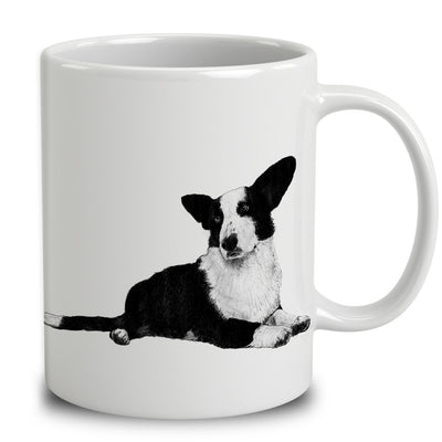 Cardigan Welsh Corgi Sketch