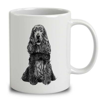 English Cocker Spaniel Sketch