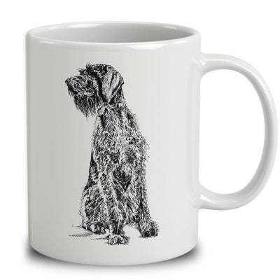 German Wirehaired Pointer Sketch