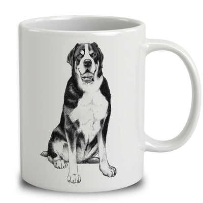 Greater Swiss Mountain Dog Sketch