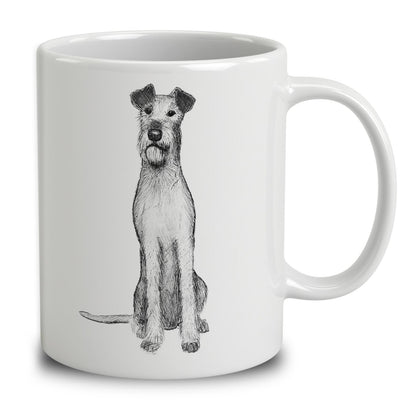 Irish Terrier Sketch