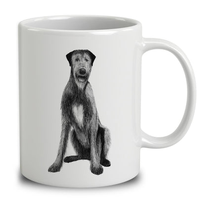 Irish Wolfhound Sketch
