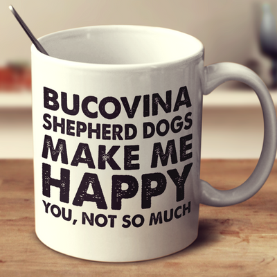 Bucovina Shepherd Dogs Make Me Happy