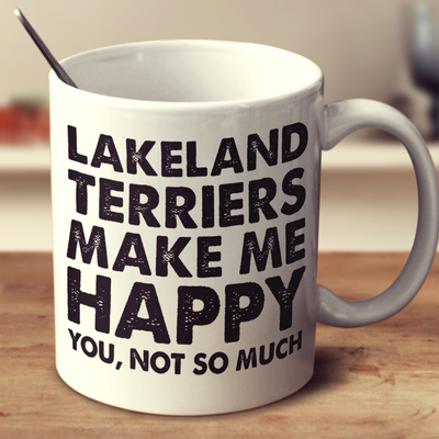 Lakeland Terriers Make Me Happy