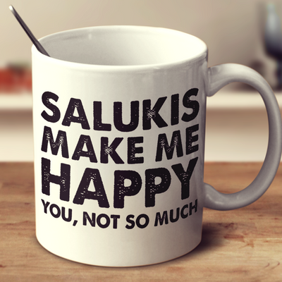 Salukis Make Me Happy