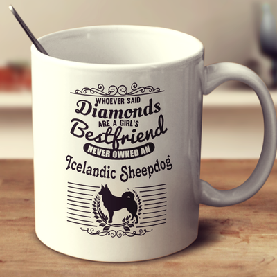 Whoever Said Diamonds Are A Girl's Bestfriend Never Owned An Icelandic Sheepdog