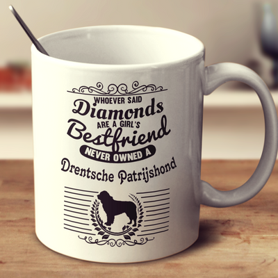 Whoever Said Diamonds Are A Girl's Bestfriend Never Owned A Drentsche Patrijshond