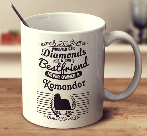 Whoever Said Diamonds Are A Girl's Bestfriend Never Owned A Komondor