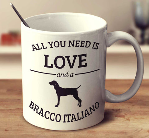 All You Need Is Love And A Bracco Italiano