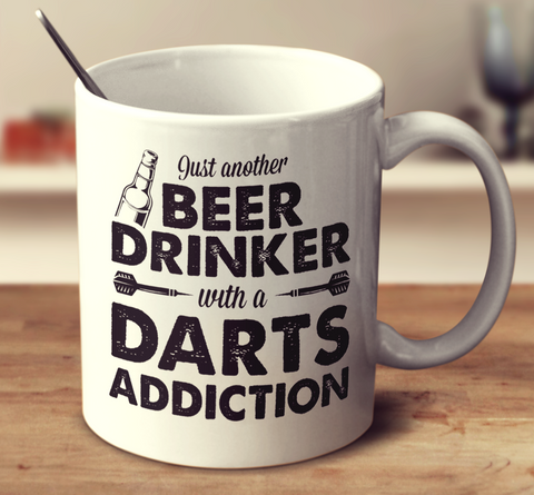 Beer Drinker With A Darts Addiction