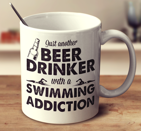 Beer Drinker With A Swimming Addiction