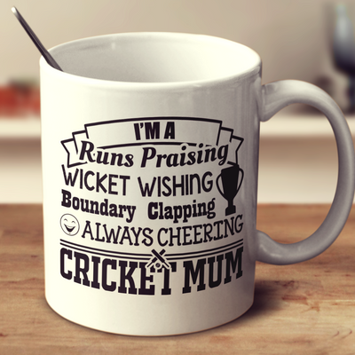 Always Cheering Cricket Mum