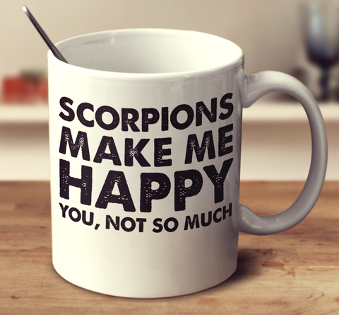 Scorpions Make Me Happy
