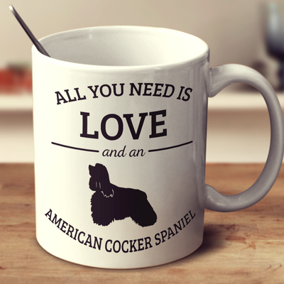 All You Need Is Love And An American Cocker Spaniel