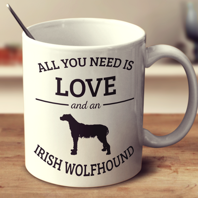 All You Need Is Love And An Irish Wolfhound