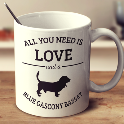 All You Need Is Love And A Blue Gascony Basset
