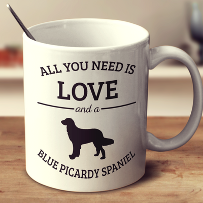 All You Need Is Love And A Blue Picardy Spaniel