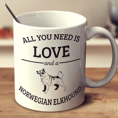 All You Need Is Love And A Norwegian Elkhound