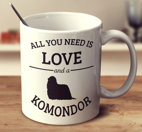 All You Need Is Love And A Komondor