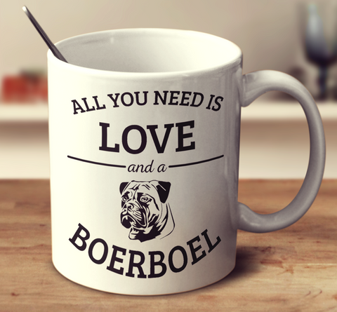 All You Need Is Love And A Boerboel