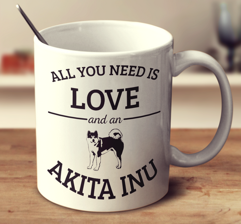 All You Need Is Love And An Akita Inu