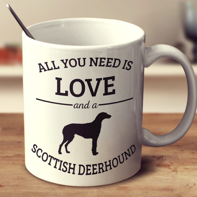 All You Need Is Love And A Scottish Deerhound