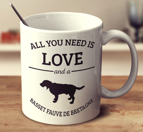 All You Need Is Love And A Basset Fauve De Bretagne