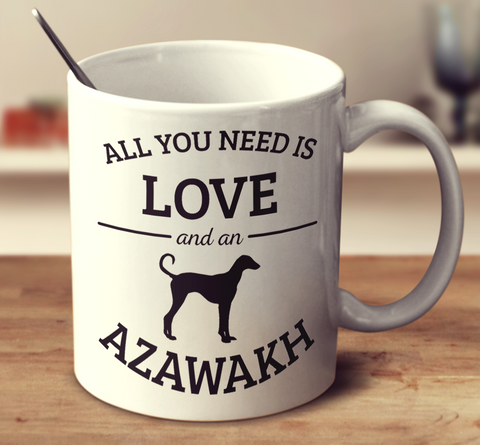 All You Need Is Love And An Azawakh