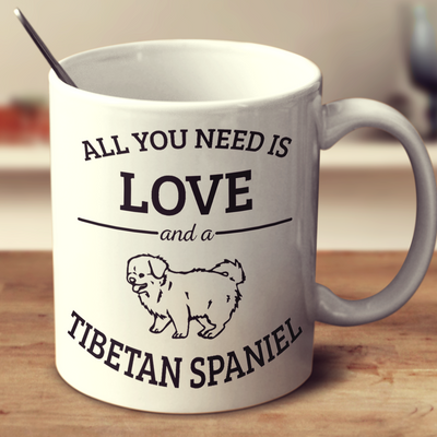 All You Need Is Love And A Tibetan Spaniel