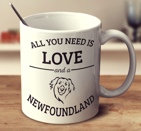 All You Need Is Love And A Newfoundland