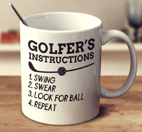 Golfer's Instructions